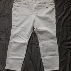 White jeggings NWT